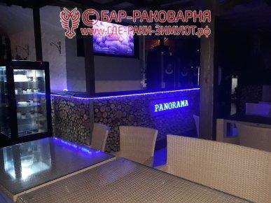 В ресторане Панорама Сочи